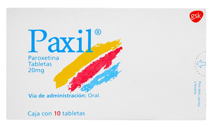 ¿Tiene efectos secundarios la paroxetina?